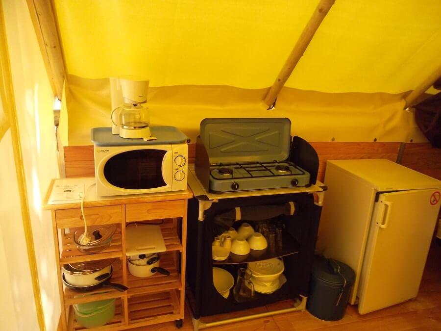 location bungalow toilé