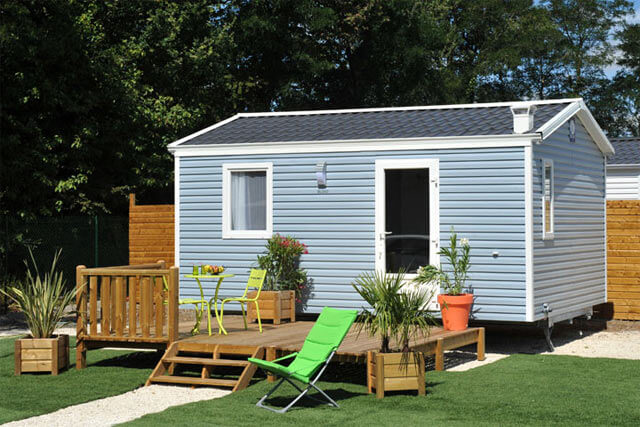 Mobil-home Comfort + 2 peoples