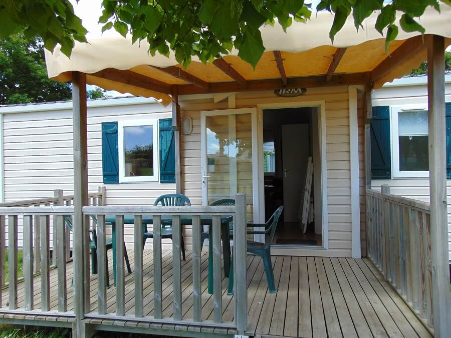 Mobil-home Confort  4/6 pers. – terrasse couverte