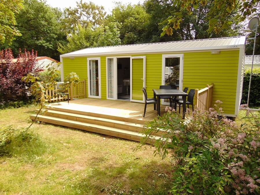 location mobil home premium camping Vendée