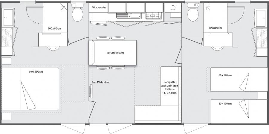 location mobil home premium