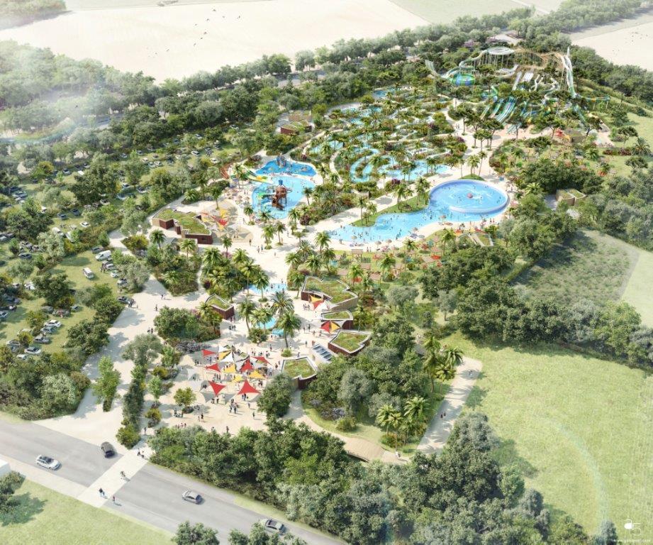 Le parc aquatique O'gliss park