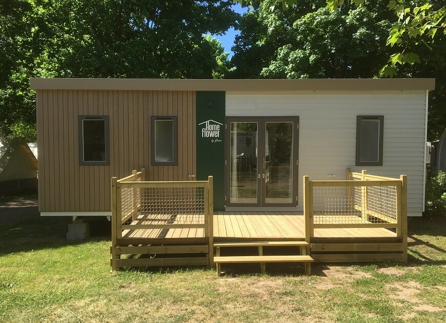 location camping moderne