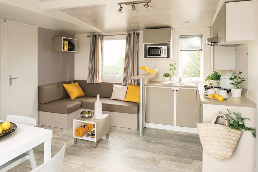 Mobil home en location moderne et spacieux