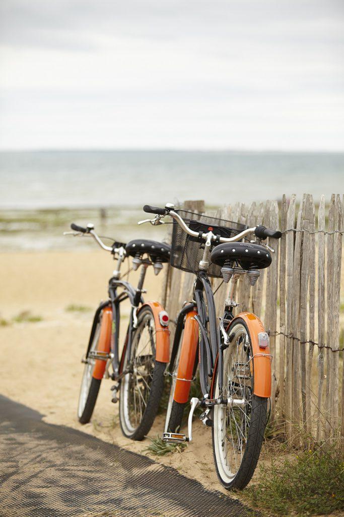 Vélos bord de mer