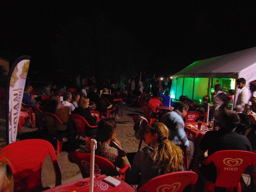 concert au camping