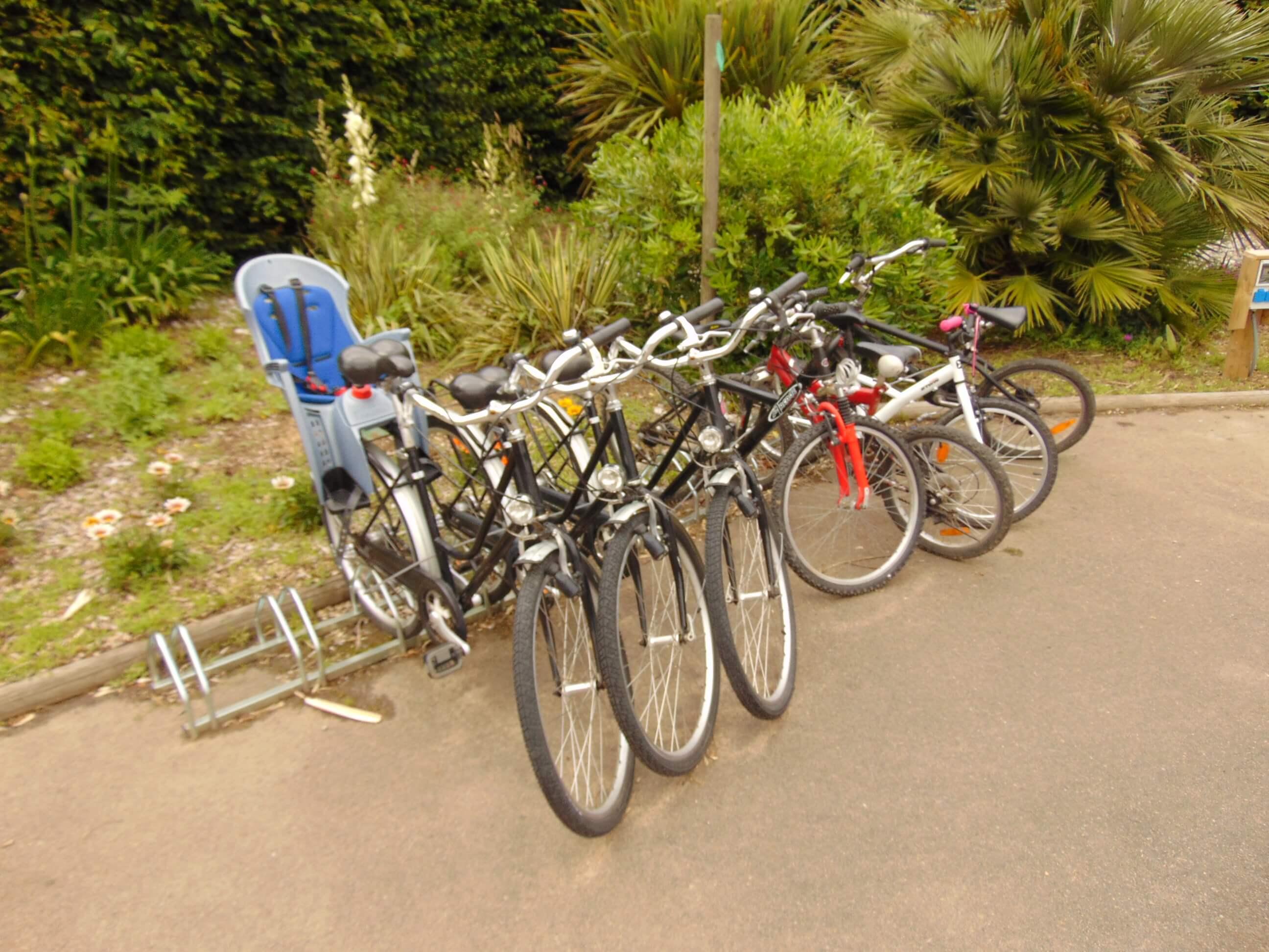 location de vélo au camping