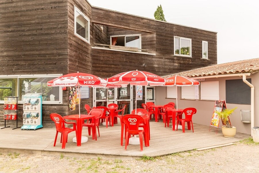 ba/ snack du camping en Vendée