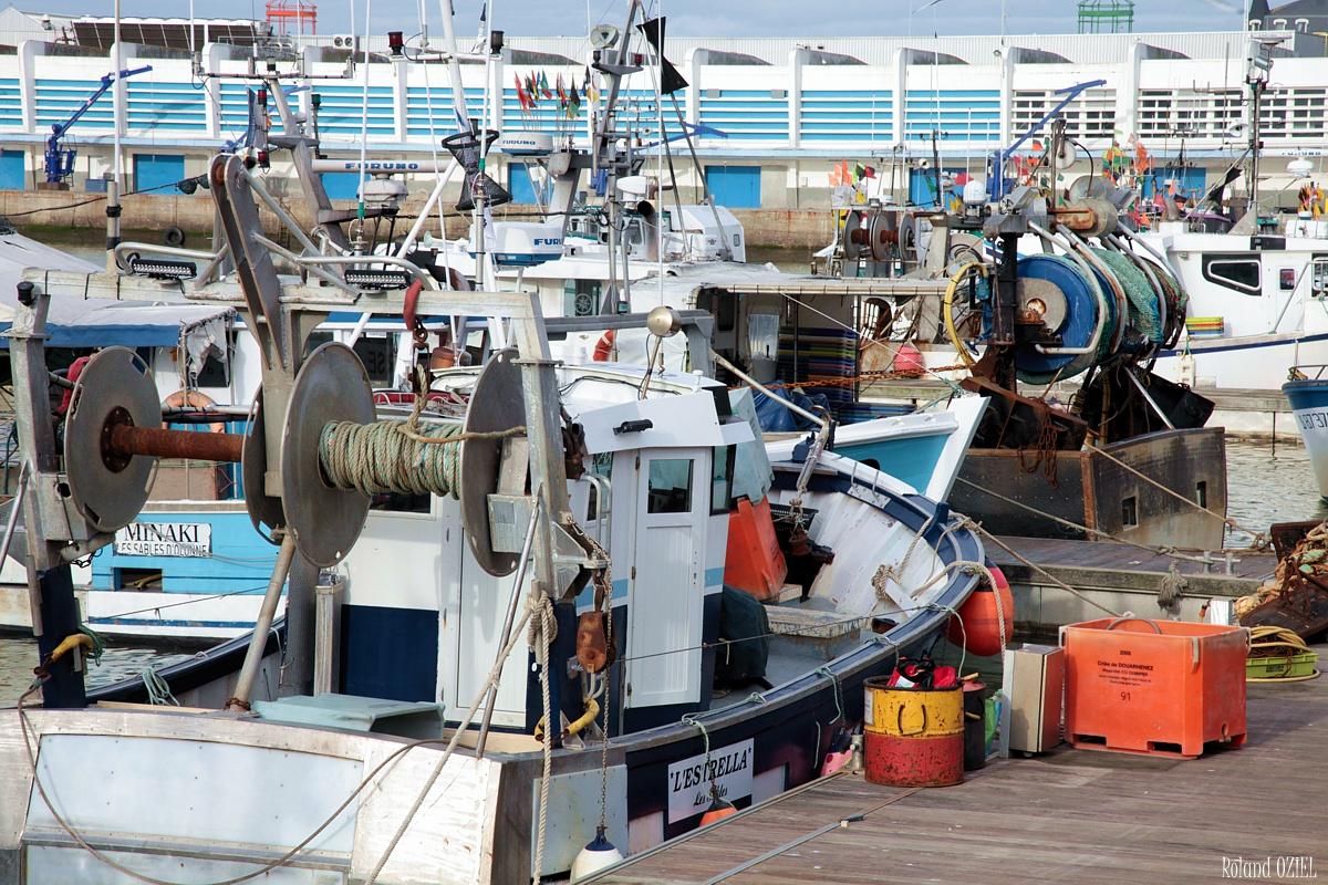 Pêche en mer port de pêche