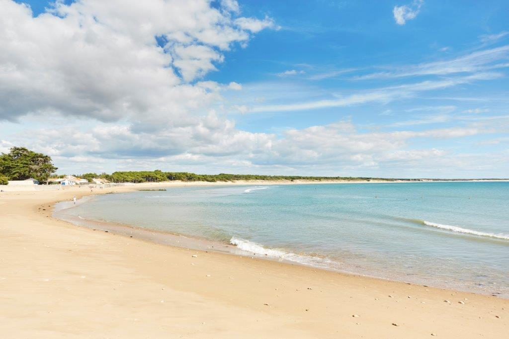 camping proche plage de sable fin