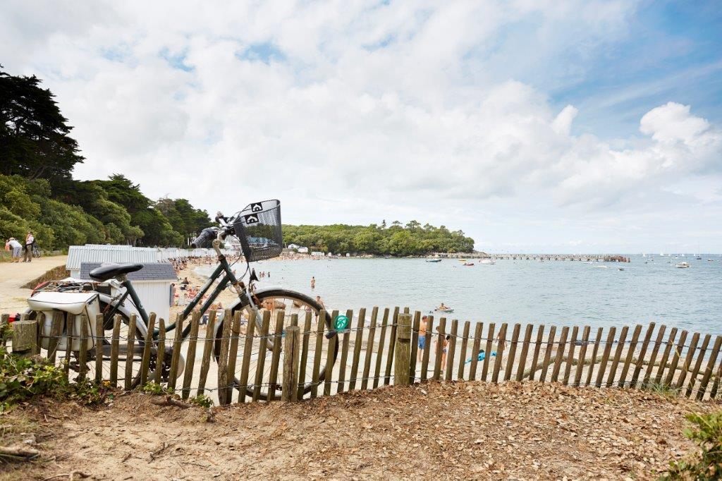 Vélo sur les pistes cyclables Vendée